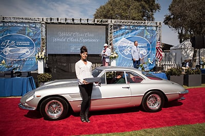 5-Ferrari-Donnie-Crevier-and-Larry-Alderson-1963-Ferrari-400-Superamerica-2-Door-Aerodynamic-Coupe car show
