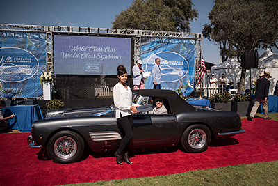 8A-Coachbuilt-by-Pininfarina-Garry-Peters-1960-250-GT-PF-Ferrari-Series-11-Roadster car show