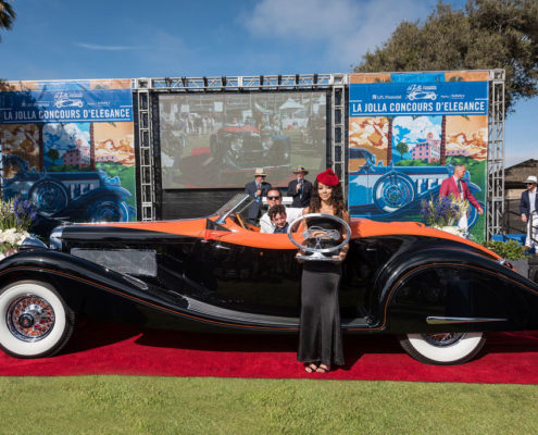 Best-in-Show-William-Lyon-1935-Duesenberg-Gurney-Nutting-495x400 car show
