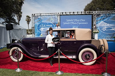 Chairmans-Award-The-Stephens-Family-1927-Packard-343-Murphy-Convertible-Sedan car show