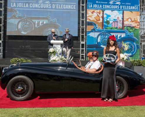 Chief-Judge-Award-William-Lang-1954-Jaguar-XK-120-495x400 car show