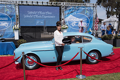 Peoples-Choice-Award-Riverside-International-Auto-Museum-Foundation-1951-Maserati-A6G-2000-Pininfarina-Coupe car show